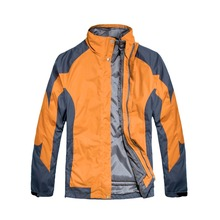 China qianbaidu garment factory Mens waterproof outdoor jacket for winter