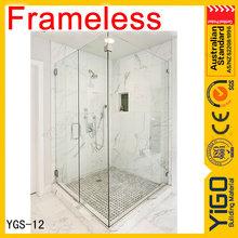 Ducha diseño de la caja / caravan ducha cubículos / clear glass mamparas de baño