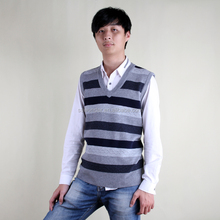 รูปแบบใหม่ขายส่งคอกลมลายรูปแบบเสื้อกั๊กเสื้อสำหรับผู้ชาย