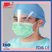 High Quality Eye Shield Disposable Surgical Face Mask With Shield