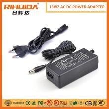 Universal 100-240v ac to dc 8v 250ma 7.5v 2000mA 15v 5.4w power adapter for philips shaver