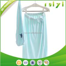 100% cotton terry cloth towels women body wraps