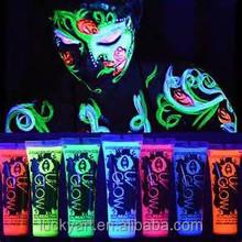 2015 popular uv body paint, neon body paint, body spray paint