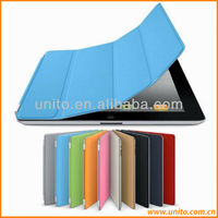Promotion High quality PU leather Magnetic Smart Cover Case For iPad Air 2
