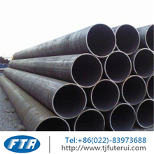 LSAW large diameter thick walled longitudinal welded steel pipe