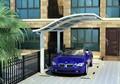 cadre en aluminium de haute qualité à bas prix garage préfabriqué