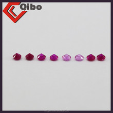 natural ruby sappiare round cut 2mm