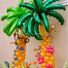 hot selling 36inch Palm leaves shape foil balloon for decorations