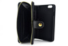 2015 new design leather case double covering for Iphone 6 wallet style