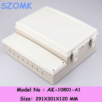 290*300*120mm IP68 waterproof plastic enclosure and abs junction box case for electronics