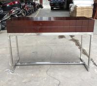 high grade hotel mirror dressing table with wood veneer top XYN244