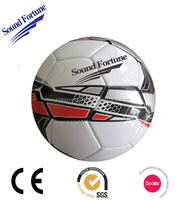 PVC/PU machine-sewn size 5 soccer ball in 2015