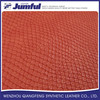 Factory supply attractive price crocodile leather fabric