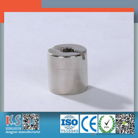 Super Strong N35 - N52 Ndfeb Cylinder Permanent Neodymium Magnet With Hole