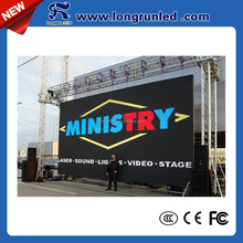 Volume manufacture reasonable price 1024*1024mm led displays outdoor