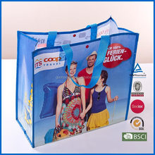 China Supplier Customized Logo PP Woven Shopping Bag