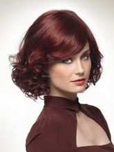 Foreign trade in Europe and America fashion lady short curly hair wigs