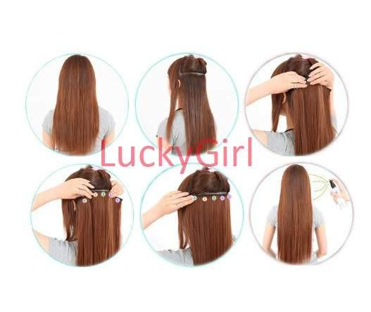 LuckyGirl 5 HG-HAIR-6-DGR-LGRE