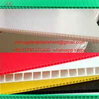 PP Hollow Sheet , Corrugated Plastic Sheets, Corrugated Plastic Board