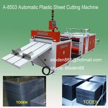 Rolo de pvc pet material de corte machien, plástico pvc pet máquina de corte