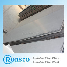 ASTM 304 stainless steel plate with PVC coating