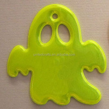 Manufacturers Selling fluorescence colors Plastic Reflective Keychain