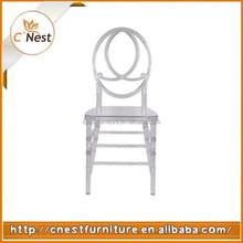 Crystal Clear Wedding Chair Resin Phoenix Chair