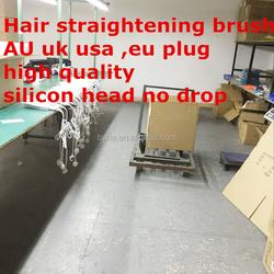 comb hair straightener LCD Straightening Hair Comb Brush Irons Electric Straightener Hair Massage Comb