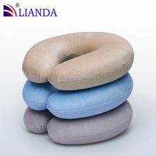 Latex Foam Rubber Travel Neck Pillow Set With Speaker