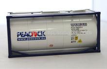 1:40 zinc alloy diecast tank container model