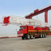 API XJ550 Workover Rig for sale oilfield workover rig china supplier