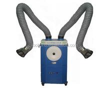 Saldatura/laser estrattore fumi con uno o due bracci di scarico