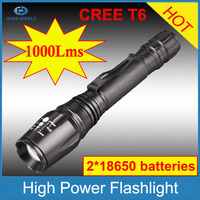 With CE, RoHS, China supplier 3-Modes 900Lumens Adjustable Focus rechargeable orkia torch