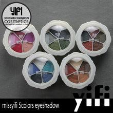 Miss Yifi 5 color flower makeup eyeshadow powder palette