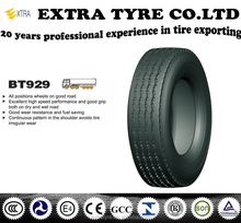 all steer truck tyre BT929 265/70R19.5 all position on good road