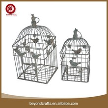High quality square home balcony decorative bird cages for weddings