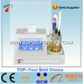 Método de Karl Fischer coulométrica de equipos de pruebas de aceite de la humedad, de alta precisión y bajo costo