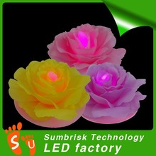 Factory direct selling led tea light candle embellishments