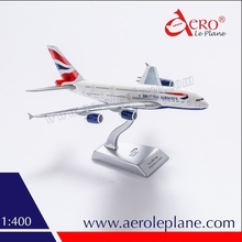 Diecast Aircraft Model A380 British Airways scale 1/400