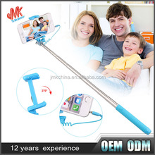 2015 Super Mini Mirror Selfie Stick Fold Handheld Stick Selfie Monopod Holde