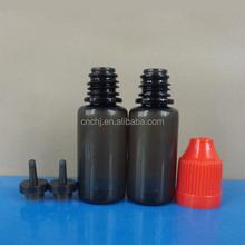 empty plastic pet bottle for travel with bottle cap