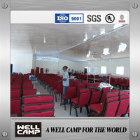 Mozambique steel structure building for prayer room/Church