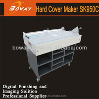 CD and DVD boxes hard cover maker sk950c