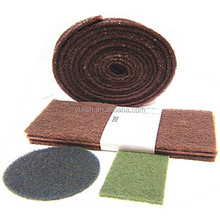 industrial scotch brite scouring pad rolls