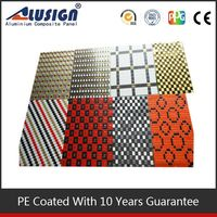 Alusign indoor mosaic decorative insulated panels aluminium composite panel wall panels