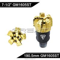API Best quality 7-1/2'' IADC M323 oil rig PDC drill bit