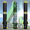 dump truck hydraulic jack plunger cylinder structure