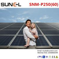 250W 30V 60 cell solar photovoltaic module