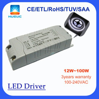 led driver power supply 20w ~80w 100w dimmable