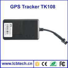 Best selling car gps tracker gps tracker tk108 car key gps tracker tk108 with 1 year warranty